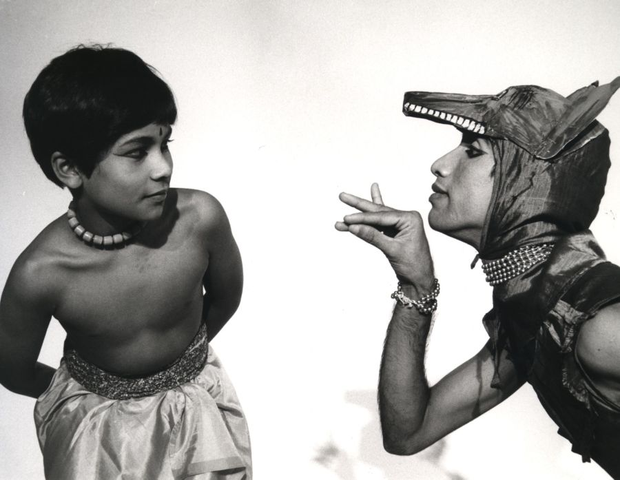 © Young Akram Khan in Akademi's The Adventures of Mowgli, 1984. Photo by Alan Dilly from Akademi archives (1)