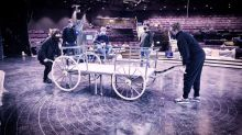 Andrew Lloyd Webber cinderella rehearsals