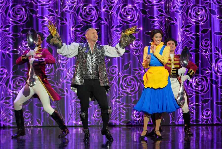 Robert Rinder performs Be Our Guest from Beauty and the Beast. Picture: ITV