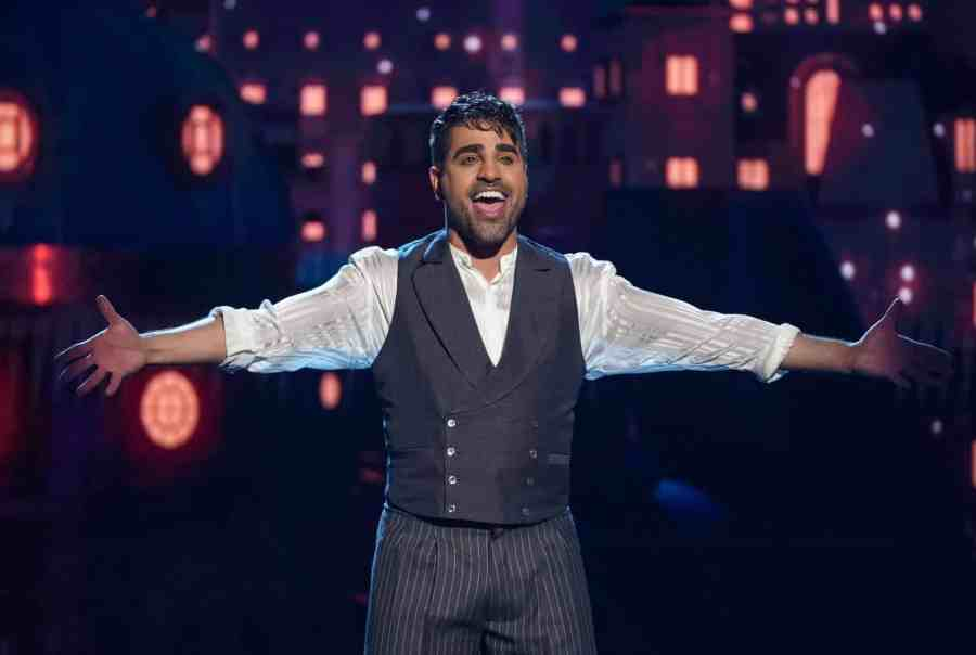 Dr Ranj Singh performs Come What May from Moulin Rouge. Picture: ITV