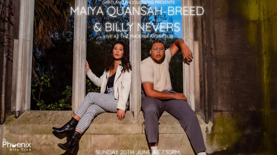 Maiya Quansah-Breed and Billy Nevers concert