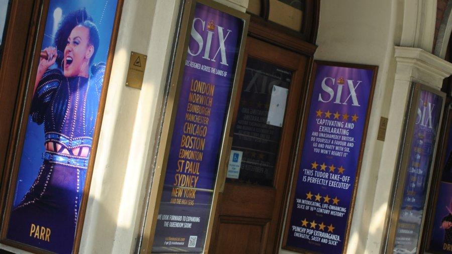 six musical west end lyric
