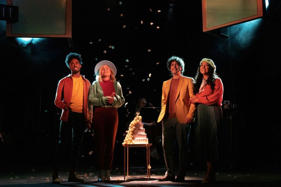 Dalton Harris, Kerry Ellis, Lee Mead, Grace Mouat, Closer Than Ever (credit Bonnie Britain) (1)