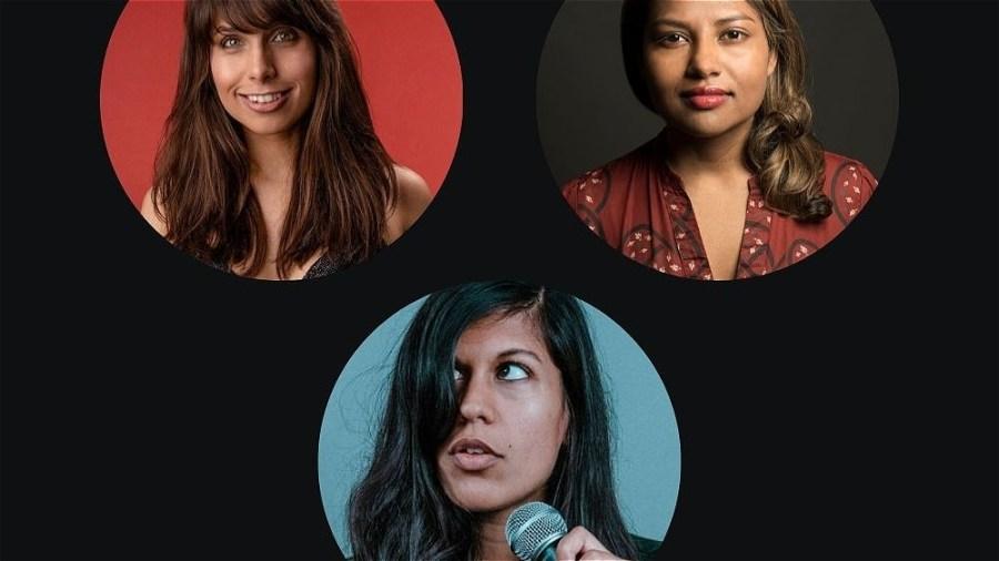 Funny Femmes (Charlie George, Sharlin Jahan, AlexBertulis-Fernandes)