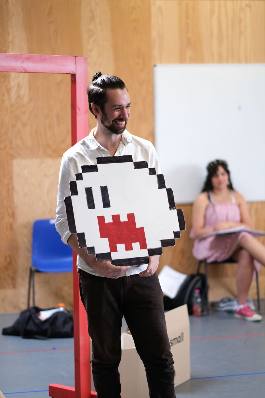 Mario: A  Super Musical in rehearsals