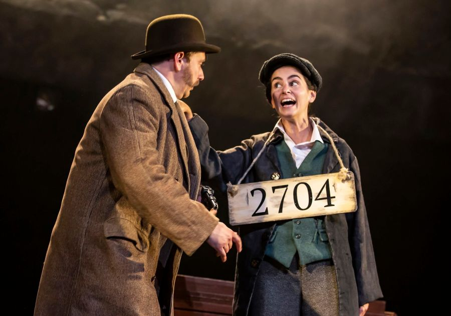 The Hound of the Baskervilles: Niall Ransome, Serena Manteghi (c) Pamela Raith
