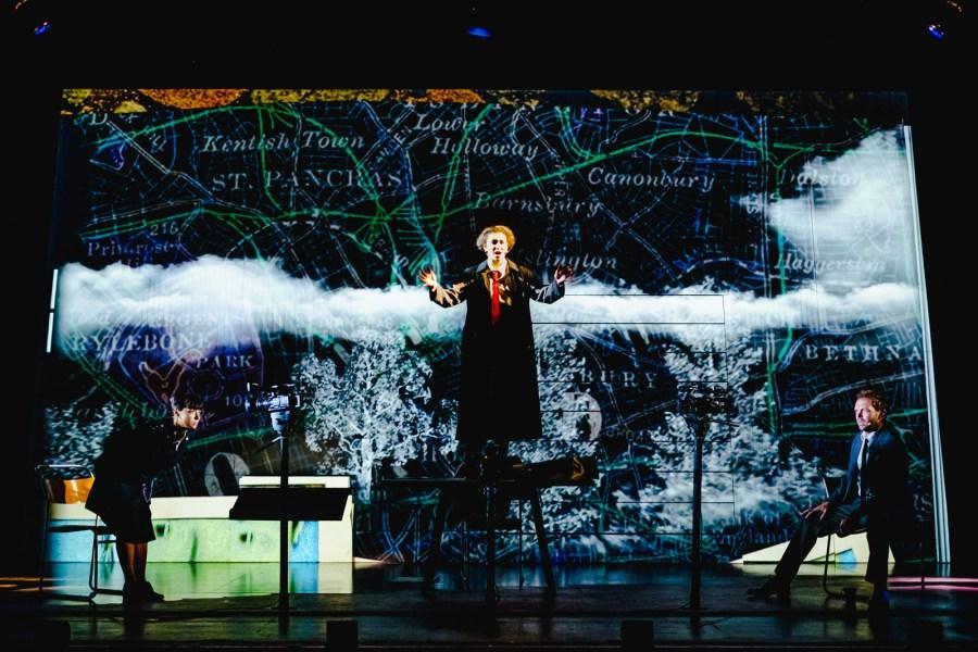 Adela Rajnovic, Riana Duce & Matt Prendergast - imitating the dog & Leeds Playhouse - Dracula The UntoId Story - Photo Ed Waring (2