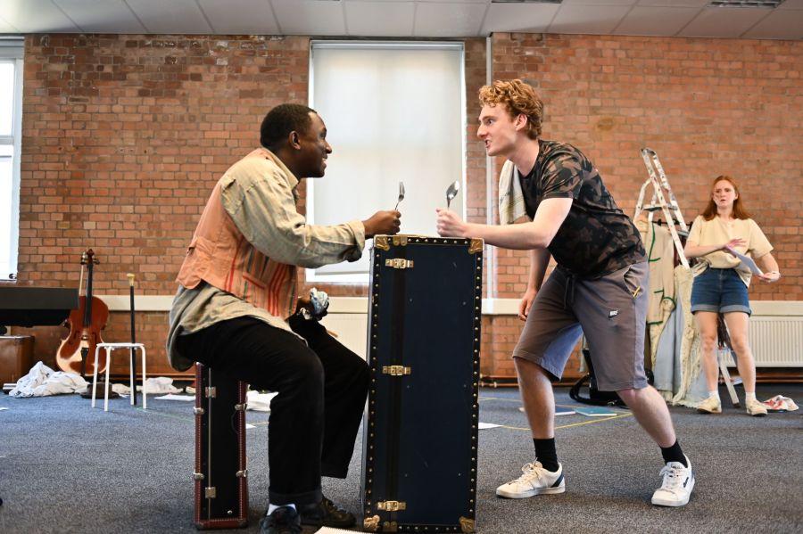 Phillip Olagoke and Reuben Greeph, Photo Credit Charles Flint