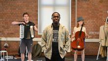 Reuben Greeph, Phillip Olagoke and Rosalind Ford, Photo Credit Charles Flint