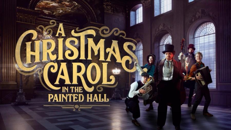 a christmas carol painted hall