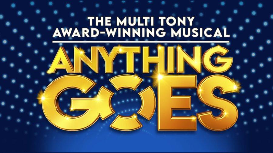 anything goes musical logo