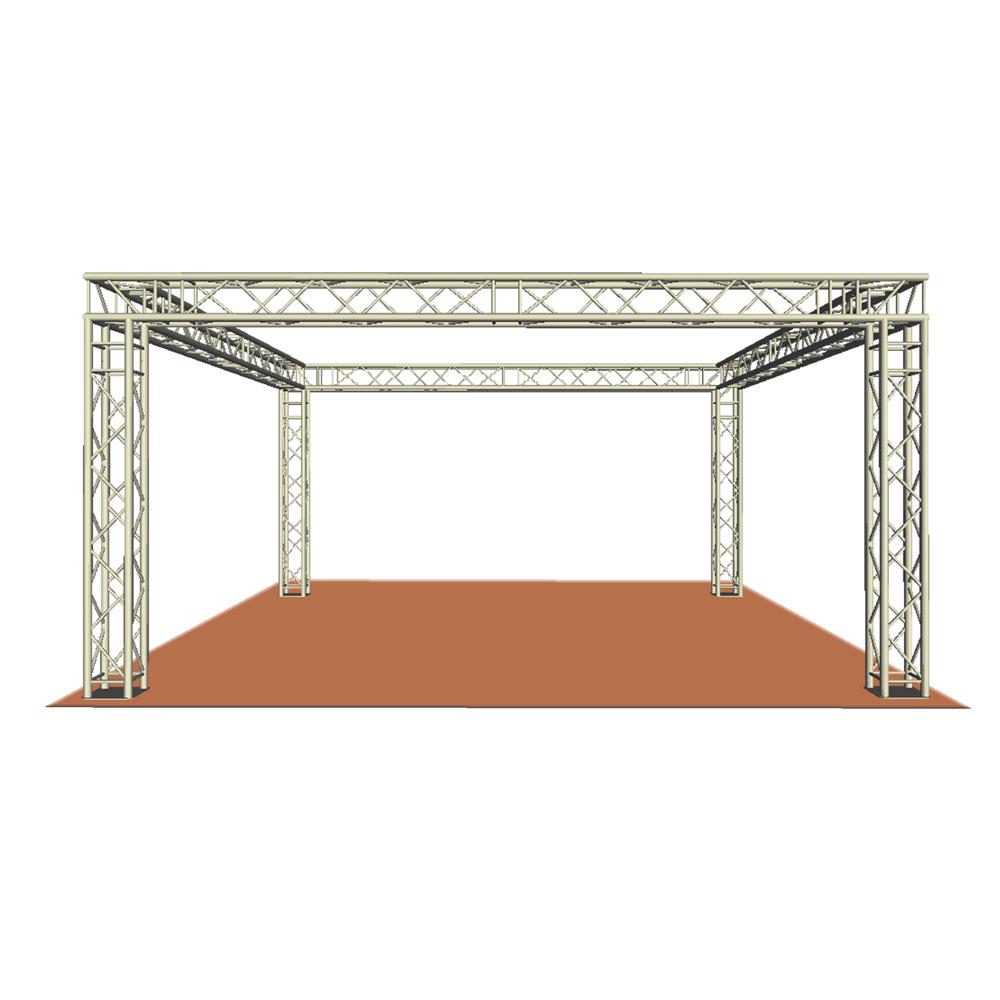 sc pro lite box truss system 6m x 6m x 3m