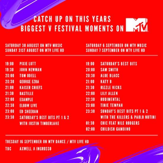 V Festival 2014 highlights