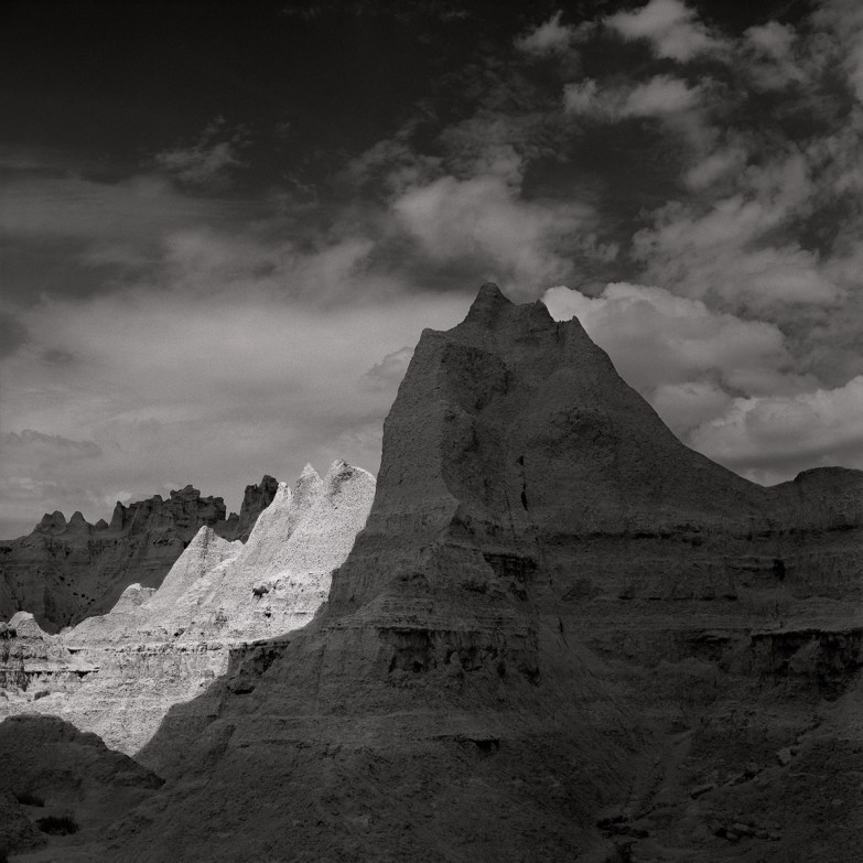 Black and White Hills by Keith Taylor