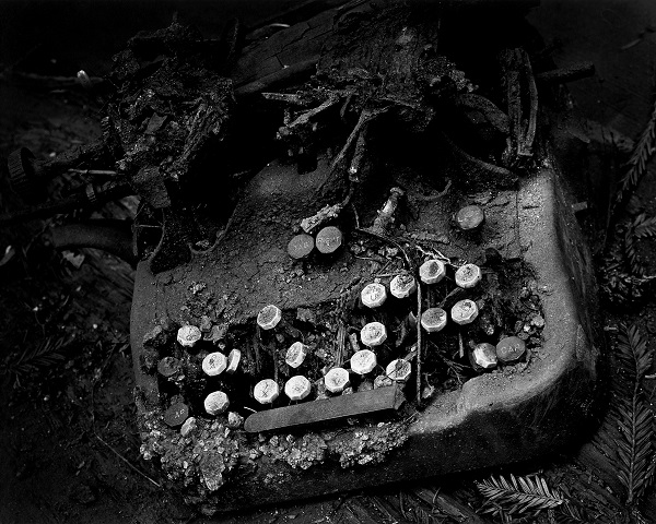 Old Typewriter 1951 Wynn Bullock © 2013 Bullock Family Photography, LLC