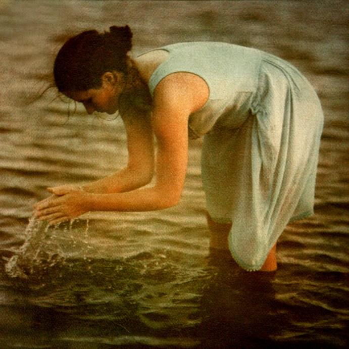 Wading ©Diana Bloomfield
