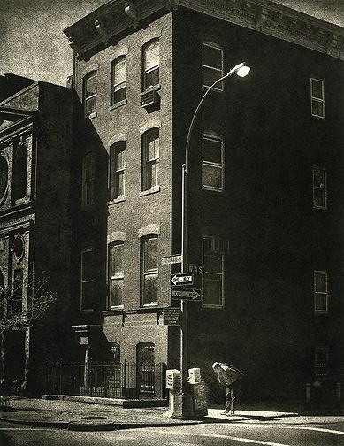 Edward Hoppers Corner © Peter Liepke