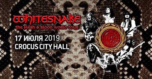 WHITESNAKE. Crocus City Hall. 17 июля 2019