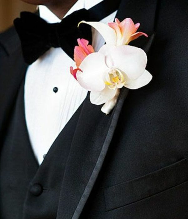 Tropical Groom's Boutonniere
