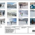 4 de couverture calendrier 2017 glisse en Haute-Savoie