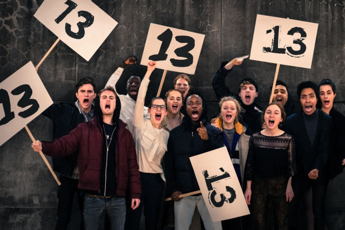 13 by Bristol Old Vic Theatre School at Tobacco Factory Theatres, Bristol