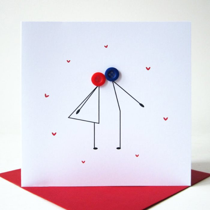 Simple Valentines Day Ideas Custom Card Making
