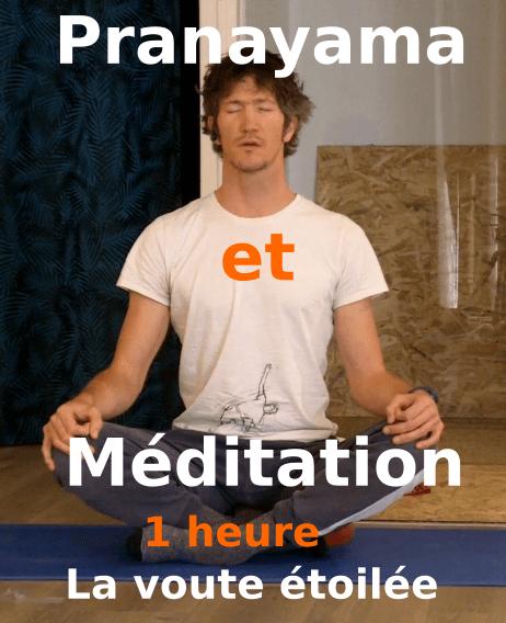pranayama méditation yoga 1 heure