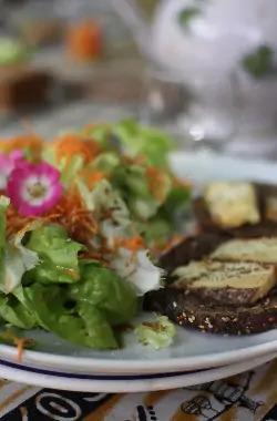 cuisine végétarienne stage yoga mer