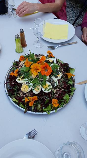 salade végétarienne retraite méditation