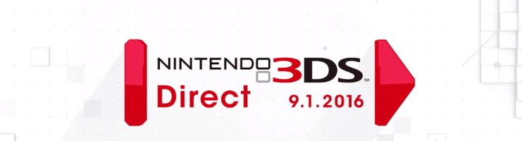 Nintendo 3DS Direct – 9.01.2016