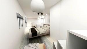 バーチャルホームステージング事例-寝室