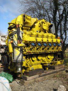 Paxman Valenta Engine S499 in Yellow