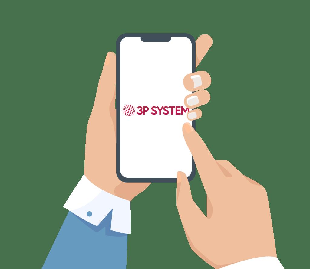 Scarica l'app di 3P System