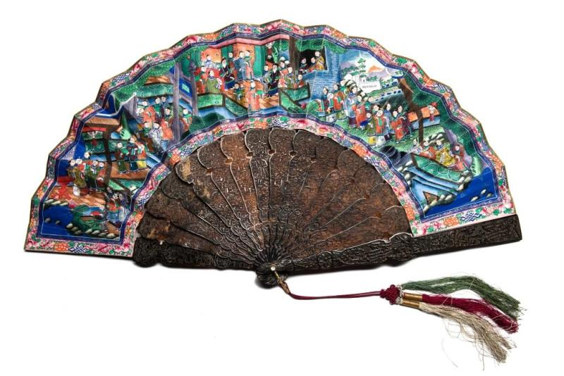 Antique Chinese Fan