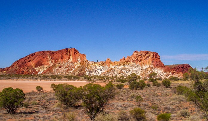 Rainbow Valley - Darwin to Adelaide