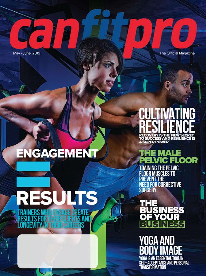 canfitpro Magazine | May/Jun 2019 cover