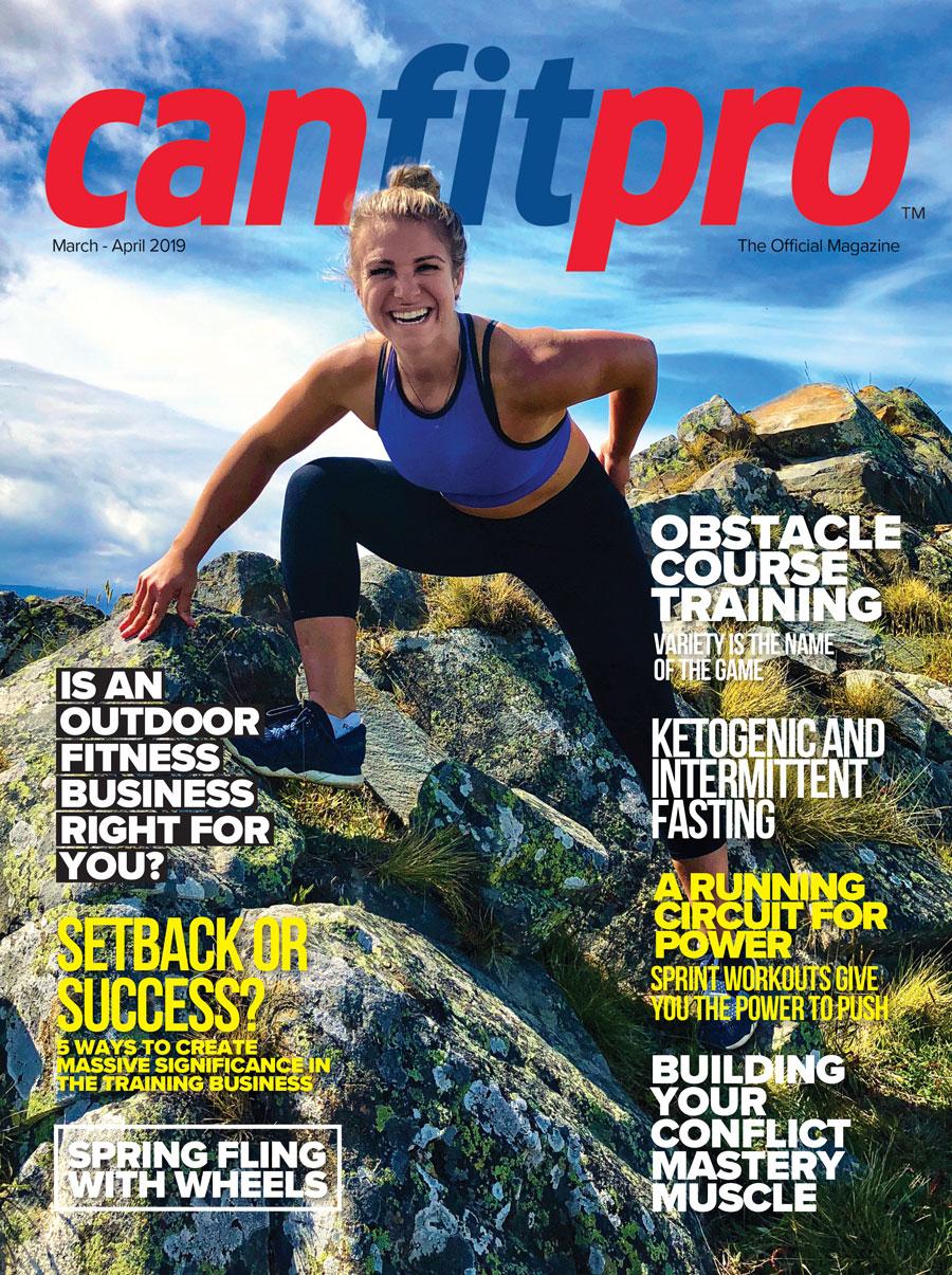 canfitpro Magazine | Mar/Apr 2019 cover