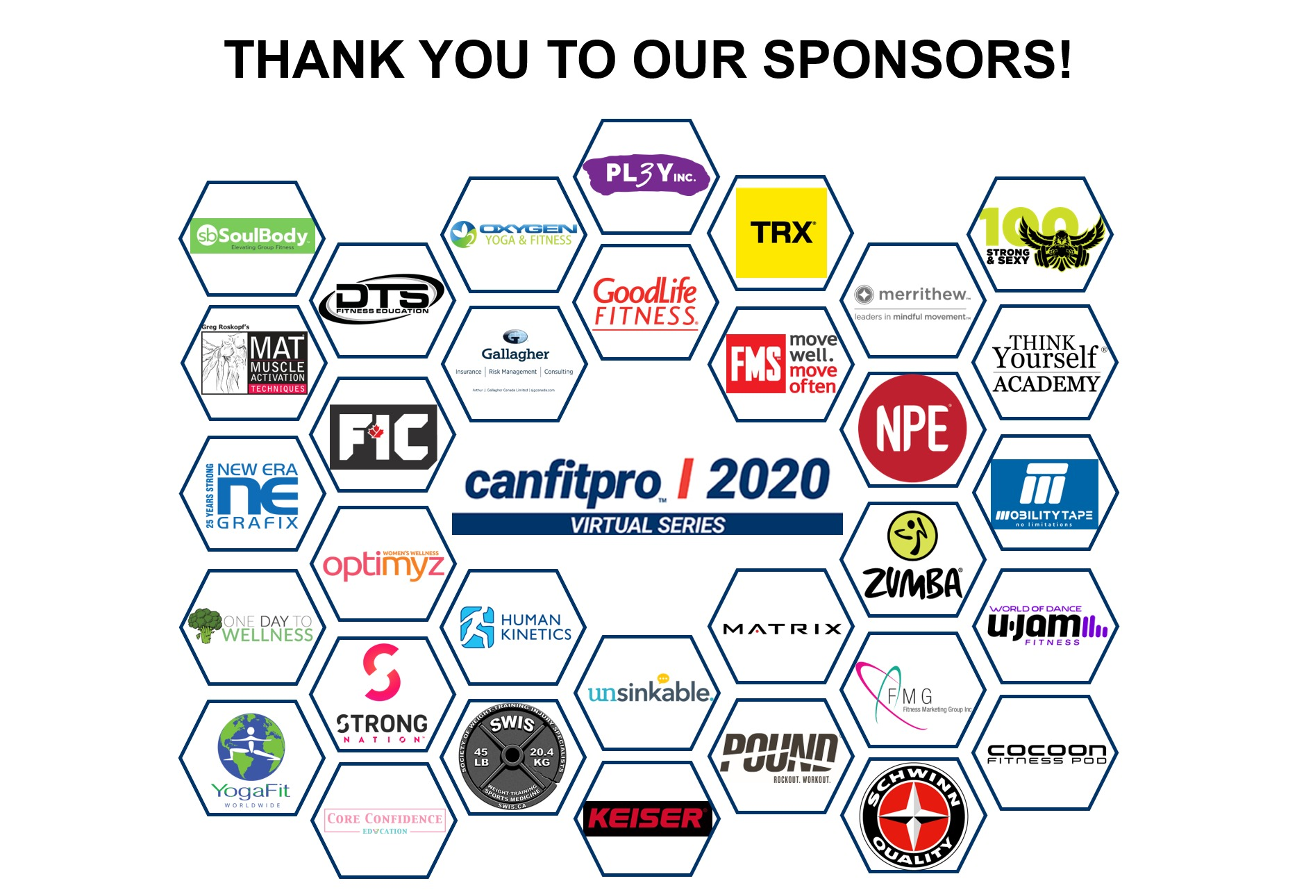 canfitpro 2020 sponsors