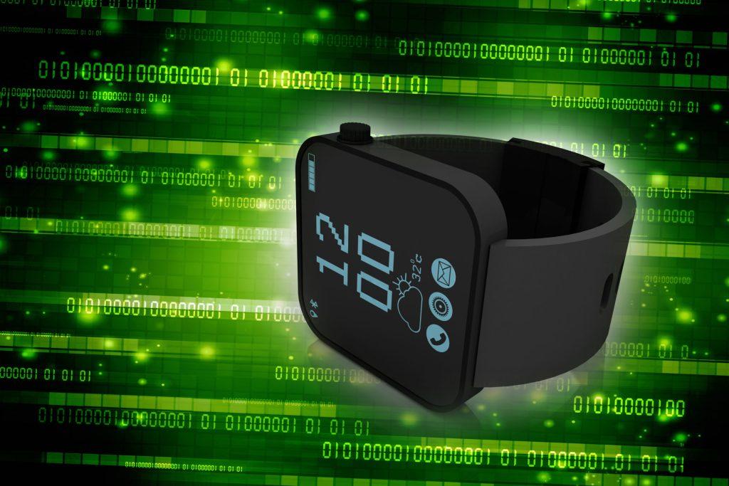 3d rendering fitness bracelet smart watch
