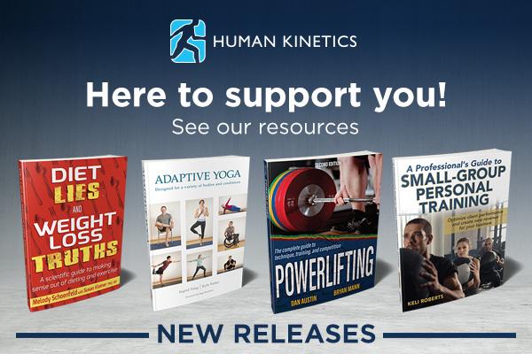 human kinetics ad banner