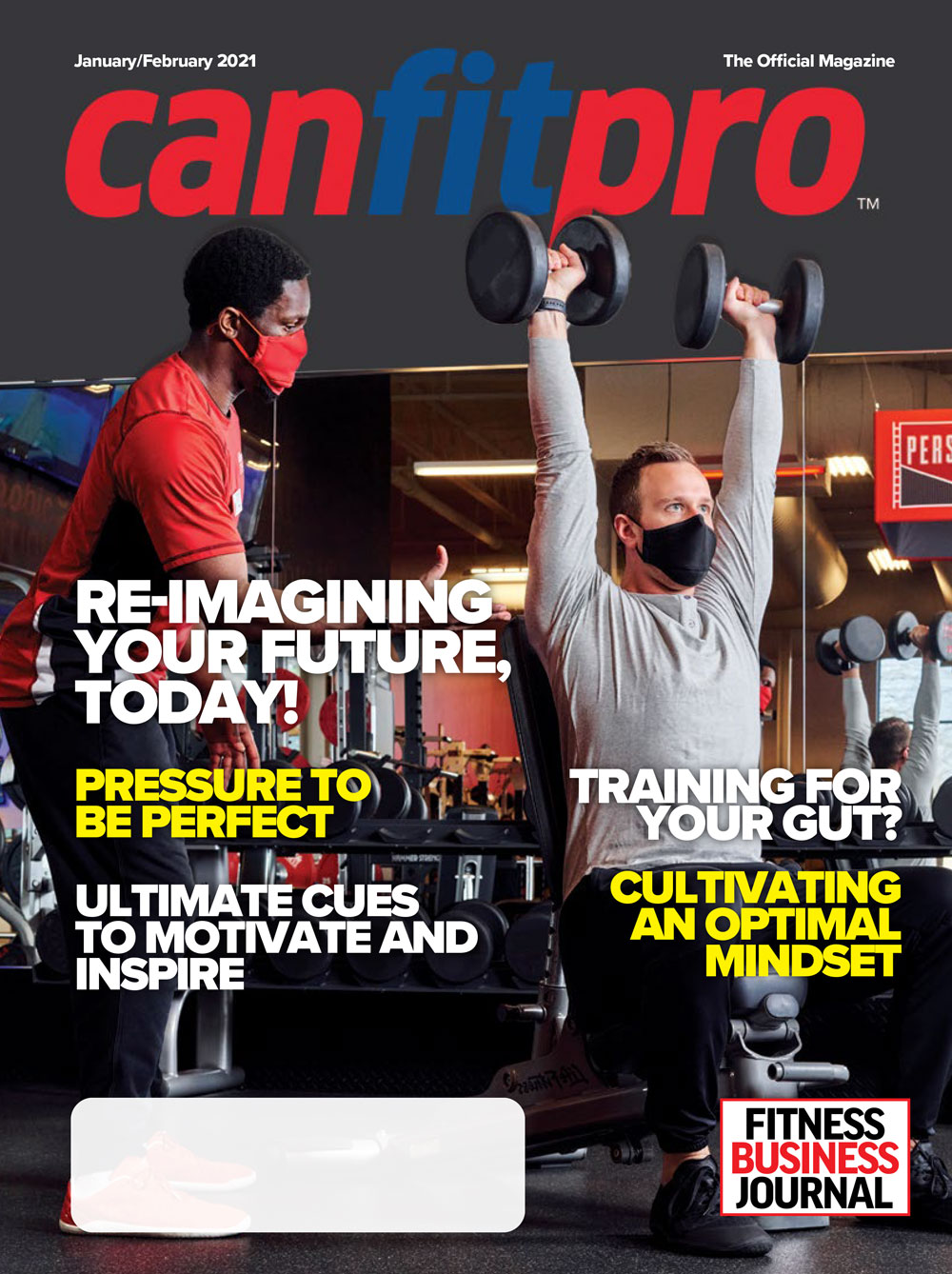 canfitpro official magazine - Jan/Feb 2021 cover