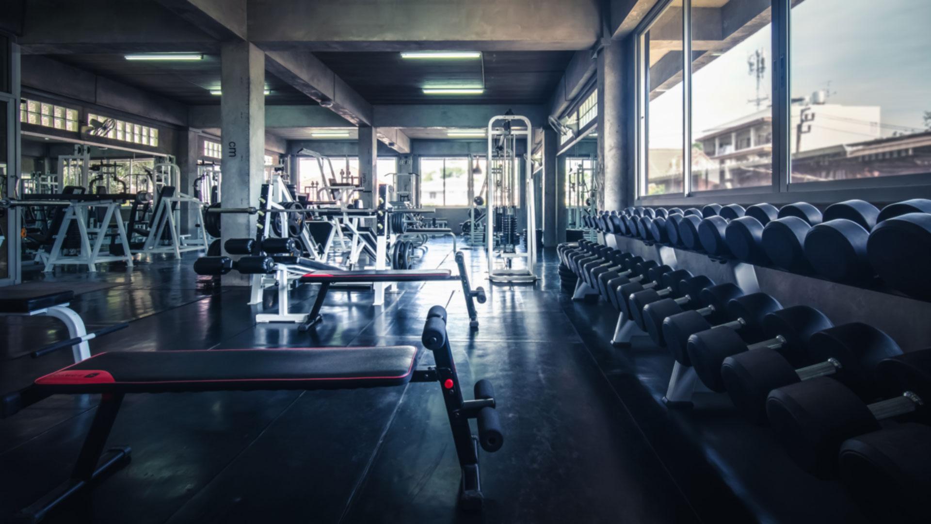 gym background