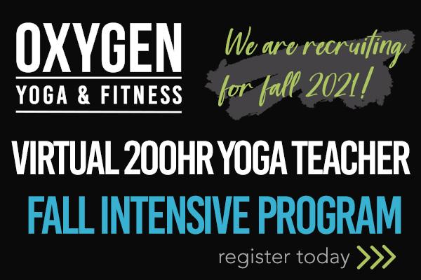 Oxygen yoga & fitness ad