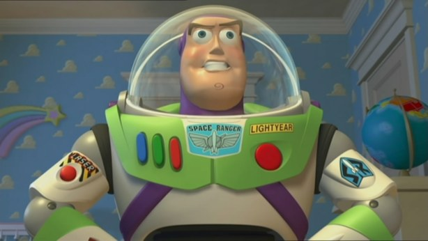 Buzz arrives in town.