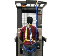 Safety Harness and Lanyard Combo