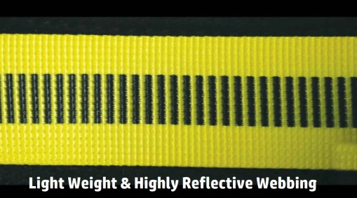 EZ-Fit Comfort Harness Light Weight & Highly Reflective Webbing