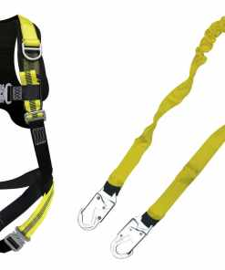EZ Fit Comfort Harness and EZ Fit Light Weight Shock Absorbing Lanyard