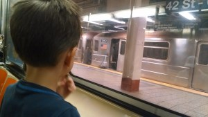 Examining habits and trains, on the Hilltown Families Blog