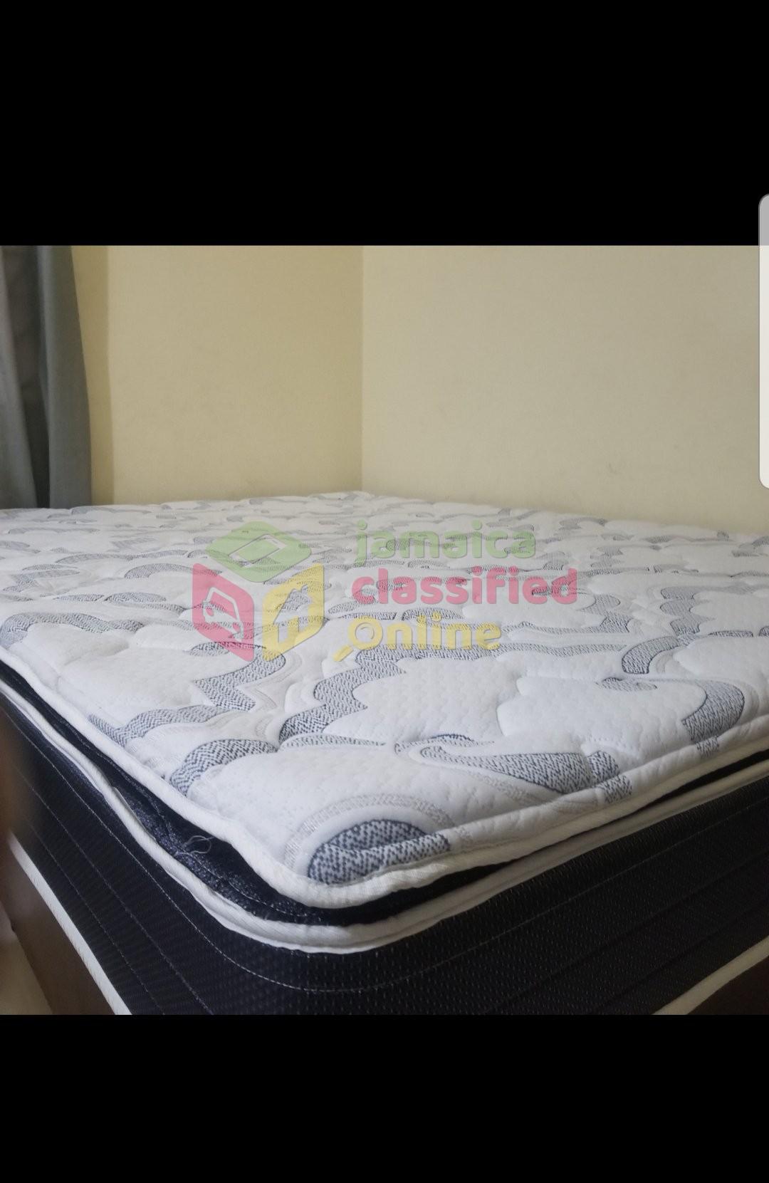 month queen size pillow top mattress