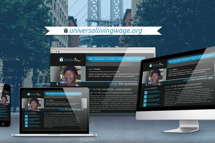 Universal Living Wage Website